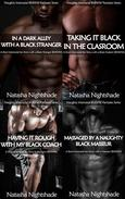 Naughty Interracial Fantasies with Black Men and White Women: The Complete Collection - Four Short Interracial Sex Stories