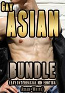 Gay Asian Bundle  (Gay Interracial MM Erotica Asian+White)