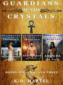 Guardians of the Crystals: Books Books One, Two, and Three