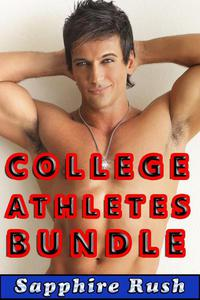 College Athletes Bundle (bisexual MMF threesome)