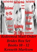 Mail Order Bride: Redeemed Mail Order Brides Box Set - Books 10-12