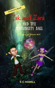 Zak and Zara and the Invisibility Ball. A Story of Doon Hill. Children's Book.
