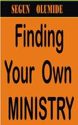 Finding Your Own Ministry