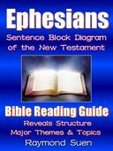 Holy Bible - Ephesians - Sentence Block Diagram Method of the New Testament Holy Bible - Structure & Themes: Bible Study Method