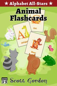 Alphabet All-Stars: Animal Flashcards