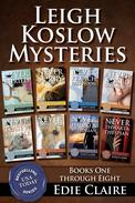 The Leigh Koslow Mystery Series: Books One Through Eight