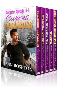 Curves and Cowboys 2 – BBW Western Romance Boxed Set (Coldwater Springs 5-9)