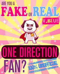 Are You a Fake or Real One Direction Fan? Version Blue