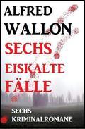 Sechs eiskalte Fälle: Sechs Kriminalromane