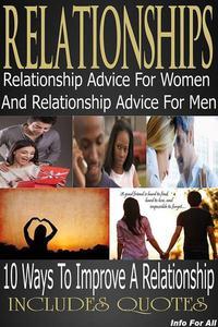 Relationships - 10 Tips For Women, 10 Tips For Men