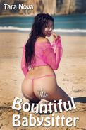 The Bountiful Babysitter (BBW M/F/F Threesome Erotica)