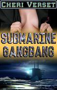 Submarine Gangbang (20 men creampie 1 woman rough sex)