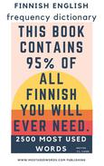 Finnish English Frequency Dictionary