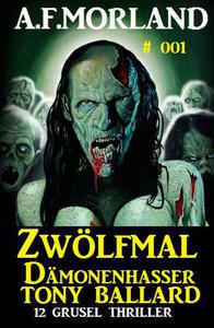 Zwölfmal Dämonenhasser Tony Ballard 001 - Sammelband 12 Grusel Thriller