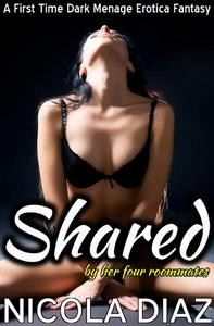 Shared by the Four Roommates - A First Time Dark Menage Erotica Fantasy