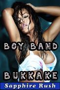 Boy Band Bukkake (bisexual MMF threesome)