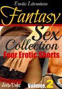 Erotic Literature Fantasy Sex Collection - Volume 2 (Four Hot Erotic Short Stories)