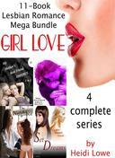 Girl Love : 11-Book Lesbian Romance Mega Bundle