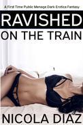 Ravished on the Train - A First Time Public Menage Dark Erotica Fantasy