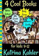 4 Cool Books: Witch School, Body Swap, 6th Grade Spy, Where's Scotty: for Kids 9-12