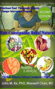 Fast Constipation Relief Natural w/ Functional Food Therapeutic Lifestyle Change Intervention Program