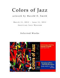 Colors of Jazz - Artwork by Harold Smith
