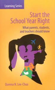 Start the School Year Right: What Parents, Students and Teachers Should Know