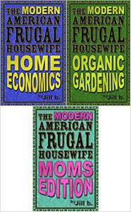 The Modern American Frugal Housewife Books #1-3