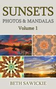 Sunsets: Photos and Mandalas, Volume 1