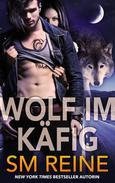 Wolf im Käfig