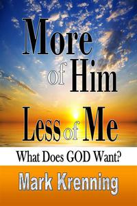 More of HIM, Less of Me: What Does God Want?