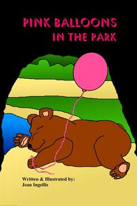 Pink Balloons in the park