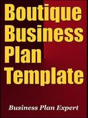 Boutique Business Plan Template (Including 6 Special Bonuses)