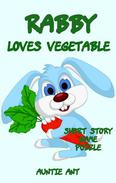 Rabbit : Rabby Loves Vegetable