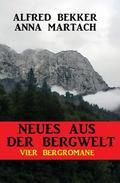 Vier Bergromane: Neues aus der Bergwelt