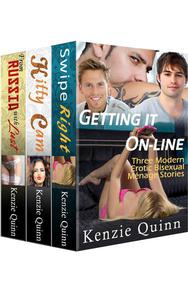 Getting it On-Line: Three Modern Erotic Bisexual Ménage Stories