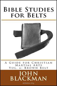 Bible Studies for Belts: A Guide for Christian Martial Arts Vol. 6: Brown Belt
