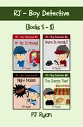 RJ - Boy Detective Books 5-8: 4 Book Bundle - Fun Short Story Mysteries for Kids