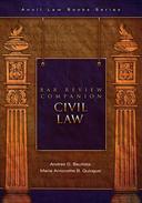 Bar Review Companion: Civil Law