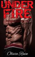 Under Fire (Winged Enemy MC Romance)