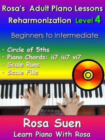 Rosa's Adult Piano Lessons Reharmonization Level 4 Circle of 5ths - ii7  iii7  vi7