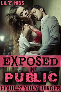 Exposed in Public: A Four-Story Bundle (Public Sex XXX Erotica Collection)