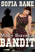 Molly Braves a Bandit (BBW Historical Erotic Romance)