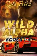 Wild Alpha: Books 1-4