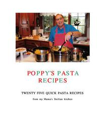 Poppy's Pasta Recipes