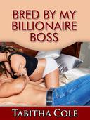 Bred By My Billionaire Boss (Teenage Virgin, Breeding and Impregnation Erotica)
