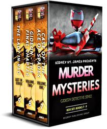Gideon Detective Murder Mysteries Box Set: Books 7-9