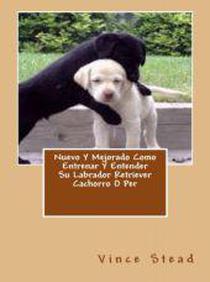 Nuevo Y Mejorado Como Entrenar Y Entender Su Labrador Retriever Cachorro O Per