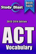 Study Blast ACT Vocabulary Prep