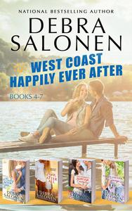 West Coast Happily-Ever-After Series: Books 4-7 (A Baby After All, Love After All, That Cowboy's Forever Family, and Forever and Ever, By George)